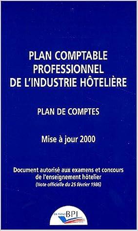 En ligne Plan comptable hotelier pdf