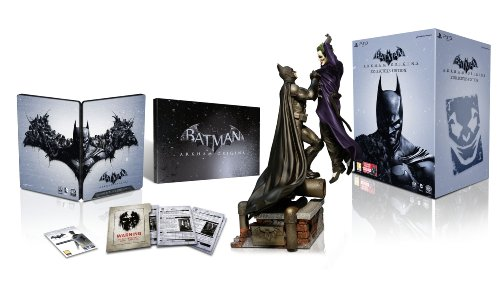 Batman Arkham Begins Collecters Edition (Batman Figure, Metal Pack, DLC Code) Japan Import