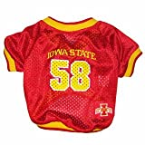 NCAA Mirage Pet Products Iowa State Cyclone Jersey for Dogs and Cats, X-Small