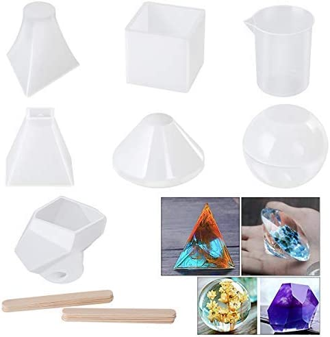 Tools Round Shape Casting Mould Silicone Molds Resin Mold Crystal Epoxy Mold