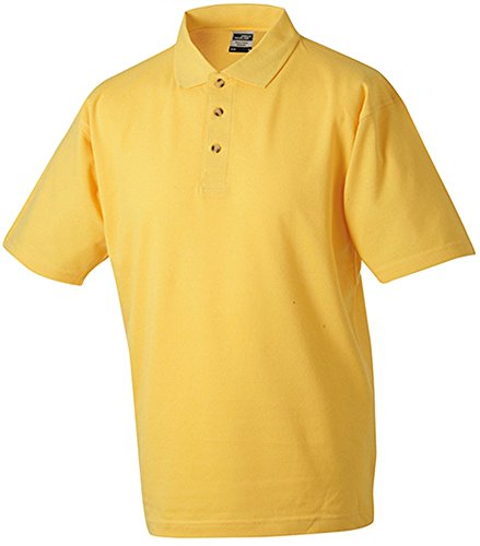 Polo Piqué Medium, Goldgelb, XXL [Misc.]