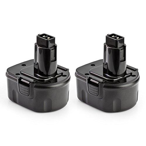 2 Pack ExpertPower 12v 3000mAh NiMh Battery for Dewalt DC9071 DW9072 DW9071 DE9075 DE9074 DE9072 DE9071 DE9037 397745-01 152250-27
