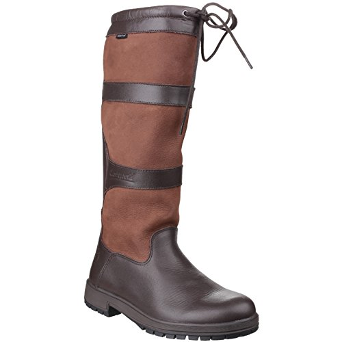 Cotswold Beaumont Damen braun wasserdicht ziehen am Wellington Boot Walnuss