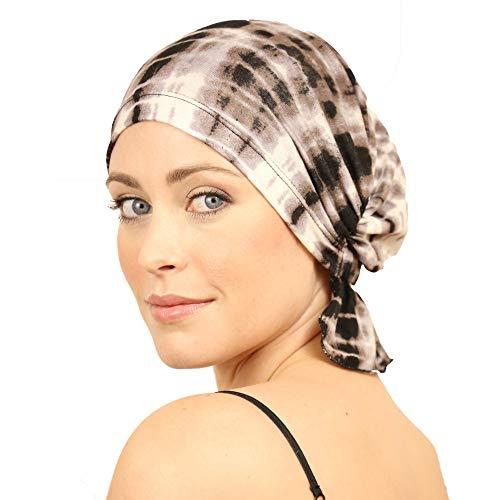 - Chemo Beanies  Lynda (Brown Tie Dye)