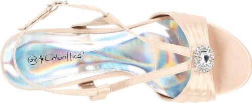 Women's Coloriffics Ankle Carly Strap Nude BvddzHxq8w