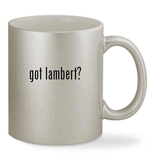 got lambert? - 11oz Silver Sturdy Ceramic Coffee Cup Mug