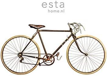 fotomural de papel pintado XL vieja bicicleta blanco, marrón y beige - 158807 - de ESTAhome.nl: Amazon.es: Bricolaje y herramientas