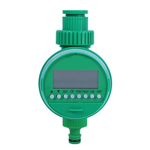 GLOGLOW Water Timer,Automatic Digital LCD Electronic Home Water Timer Garden Irrigation Controller Programs by GLOGLOW