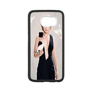Samsung Galaxy S6 Cell Phone Case Black Hayden Panettiere In Black Dress VIU960057