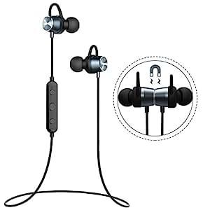 Auriculares Magnéticos Deportivos,Mpow Bluetooth 4.1 Correr Inalámbricos Auricular Magnético Ruido de Cancelación CVC 6.0 In ear con Manos Libres para Correr Running iPhone Samsung Huawei Sony