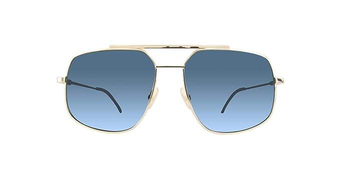 Fendi FF M0007/S KU 000 58, Gafas de sol para Hombre, Dorado ...