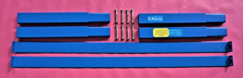 Z-Athletic Gymnastics Junior Training Bar Extension Kit (Blue) by Z-Athletic