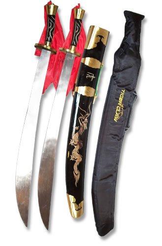 Tiger Claw Longquan Traditional Twin Broadsword
