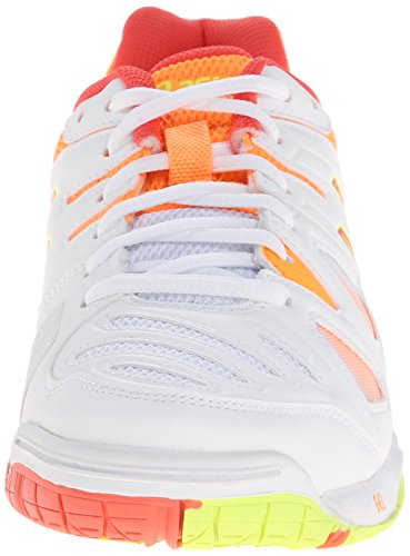 clearance 2015 new low shipping fee cheap price ASICS Women's Gel-Game 5 White/Hot Coral/Nectarine yYBAPz7NM