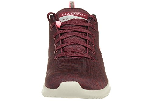 Bordeaux Femme Flex Ultra Formateurs First Skechers Choice YwURvHx