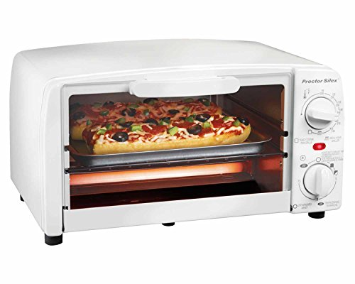 Proctor Silex 4 Slice Toaster Oven Broiler White