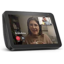 "Echo Show 8 - HD 8"" smart display with Alexa  - Charcoal"