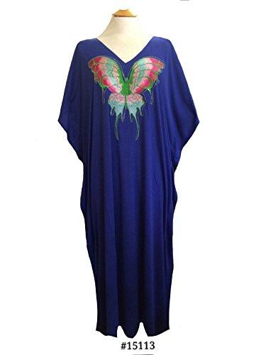 Fionalissa - Vestido - Sin mangas - para mujer azul real