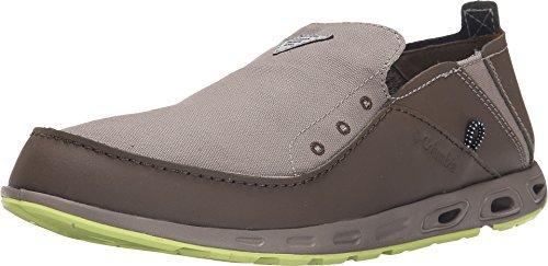Super Tippet (Columbia Men's Bahama Vent PFG Slip-On Boat Shoes (10.5 E - Wide))