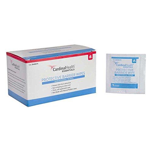 (Cardinal Health Skin-Prep Protective Barrier Wipe 1-1/4