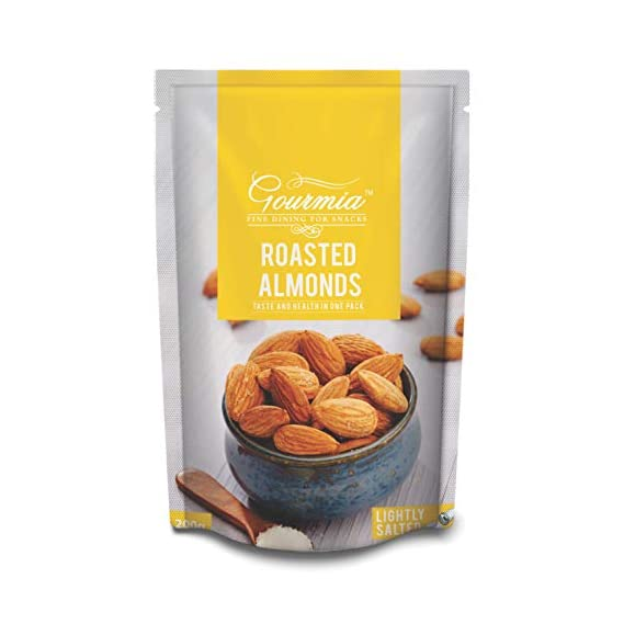 Gourmia Roasted Almonds Lightly Salted 200g