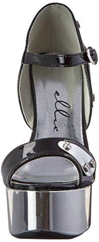 Ellie Shoes Womens 609-Germini DOrsay Pump Black 74y1oR