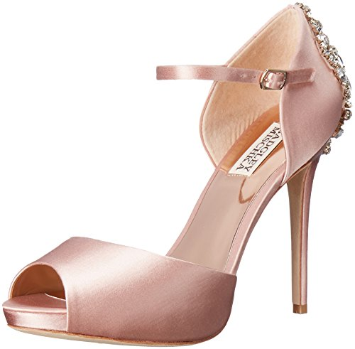 Badgley Mischka Women's Dawn Dress Sandal, Blush, 5.5 M US by Badgley Mischka