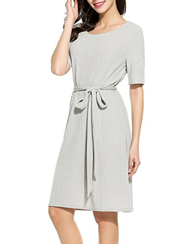 Angvns Women Knitted Casual Sleeve