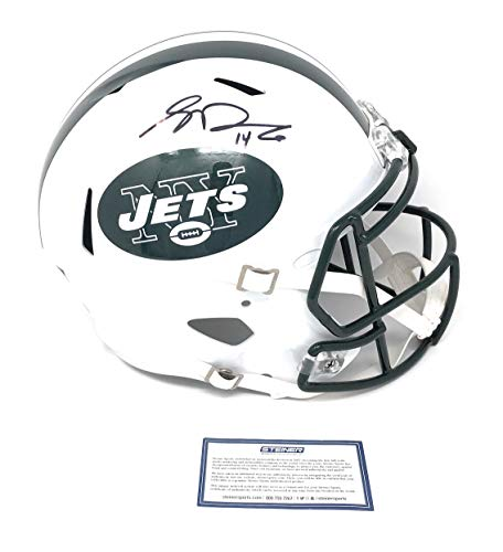 Sam Darnold New York Jets Signed Autograph Full Size Speed Helmet Steiner Sports Certified
