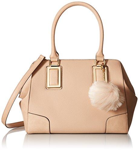 Aldo Lauzzana Top Handle Handbag Bone Lauzzana