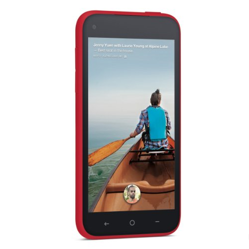 HTC First 16GB Unlocked GSM Android Cell Phone - Red