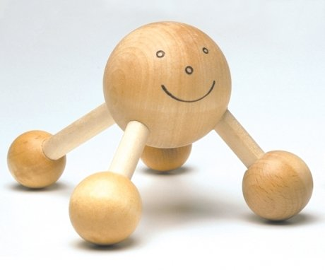 Wooden Back Massager (The Happy Company Happy Massager)