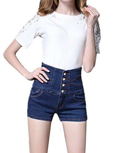 Beautisun Blu Jeans Beautisun Donna Donna Scuro Scuro Jeans Blu xqp1vO