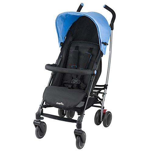 Evenflo Cambridge Stroller, Sky Blue by Evenflo