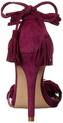Talons Habillées Chaussent Violet D'été Chaussures Femmes Décoration Pompes Mode Des Houppe Hauts Sandales De La Aiweiyi De FqaY8Px