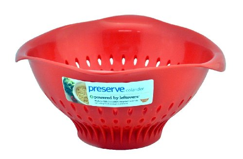 Preserve Colander, Large (3.5qrt.), Red ()
