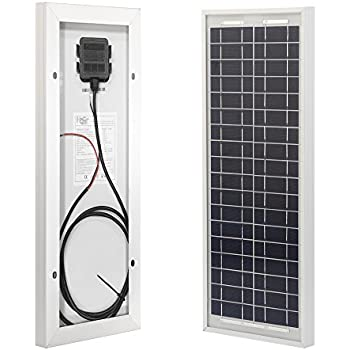 eco worthy 10w solar panel 10 watt 12 volt pv solar module solar cell panel. Black Bedroom Furniture Sets. Home Design Ideas