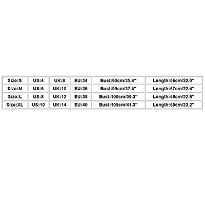 Luckycat Camisetas de Tirantes Mujer Tank Tops de Fiesta Negro Chica Camisola de Encaje Sexy Moda Camisola Sin Mangas Tops Verano 2019 Elegante Tank Tops Sin Mangas Mujer Vestir Ropa de Aire Libre: Ropa y accesorios
