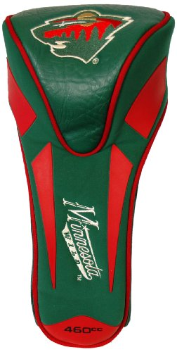 Green Golf Headcover Single - NHL Minnesota Wild Single Apex Driver Head Cover