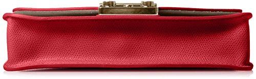 Pochette Furla Metropolis in pelle rosso rubino