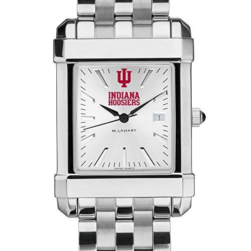 (M. LA HART Indiana University Men's Collegiate Watch w/Bracelet)