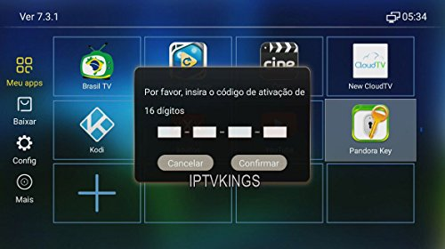 HTV 1 2 3 5/A1/A2/IPTVKINGS/BRAZIL BOX/SUPER BRAZIL IPTV BRAZIL SUBSCRIPTION 16-digit Renew code with magic keys FREE 1 EXTRA MONTH (BRAZILBOX)