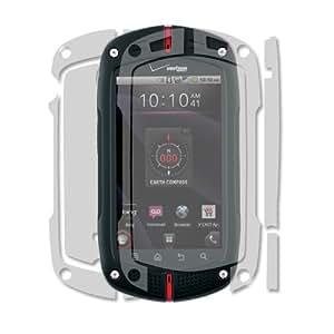 Skinomi TechSkin - Skin Protector Shield Full Body for Verizon Casio G'Zone Commando + Lifetime Warranty