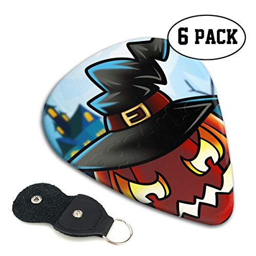 SLADDD1 How-to-Draw-a-Halloween-Pumpkin 1 000000020888 5 Classic Colorful Guitar Picks Plectrums for Electric Guitar, Acoustic Guitar, Mandolin, and Bass - 6 -