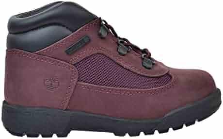 wholesale dealer 50dfe 5cc3a Timberland F L Toddler Field Boots Burgundy tb0a1att