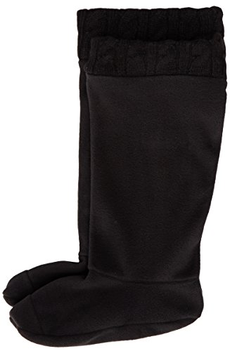 Chooka Kvinna Fleece Regn Boot Liner Svart