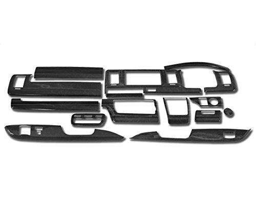 200系 ハイエース 4型 標準 シルクウッド インテリア パネル 15P セット 新品 B06ZYVFP91