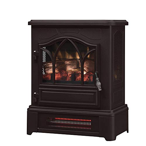 Dark Bronze Infrared Electric Heater