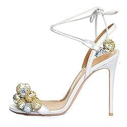 High Heels Sandals Peep Toe With Crystal