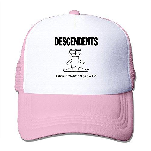 Jason V Costume (ACMIRAN Descendents Punk Rock Unisex Cap One Size Pink)